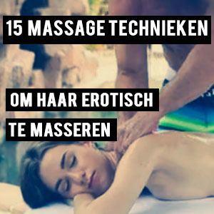 Erotische massage voor vrouwen